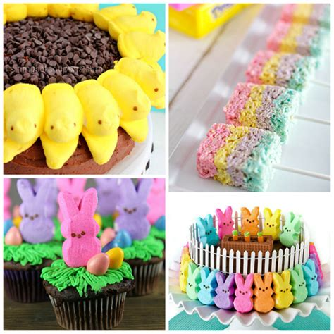 easter treat fun easter treats made with marshmallow peeps crafty morning