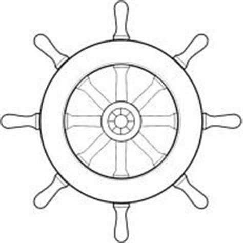 disegno  timone della nave  colori  bambini