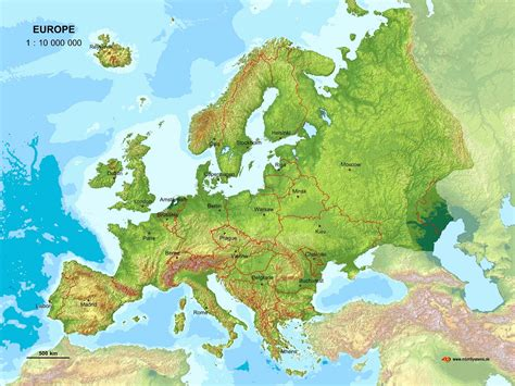 europe political map europe blog