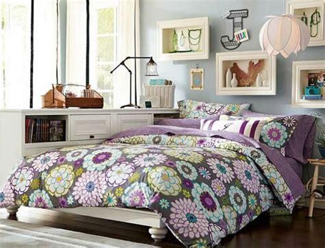 chambre bleu violet déco chambre ado fille 60 idées modernes à vous faire