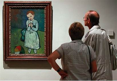 Humans Looking Painting Picasso Evolved Intrinsic Appreciation