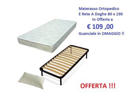 Materasso Singolo Offerta by Attenzione Rete A Doghe Materasso Singolo Ortopedico