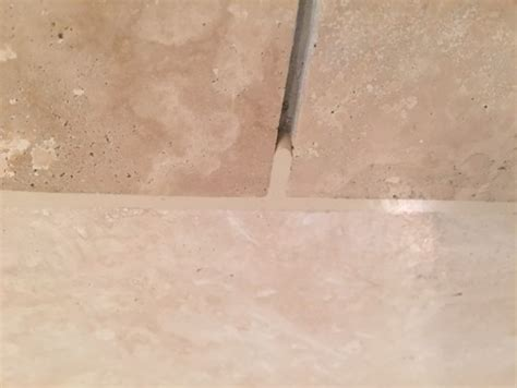 polished travertine floors how should to grout polished travertine tiles for bathroom floors