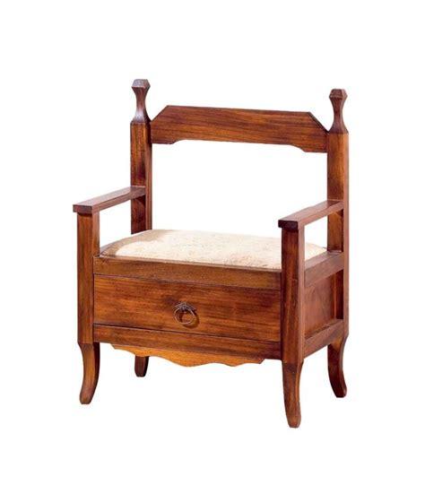 cassetto in legno panca in legno 1 cassetto spazio casa