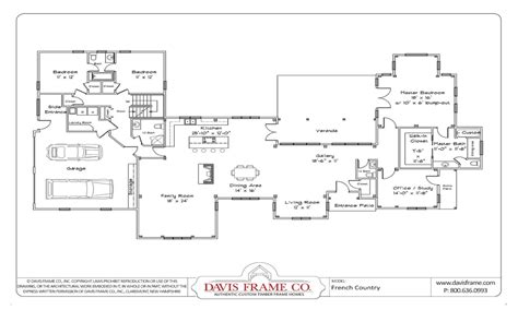 Open One Story House Plans One Story House Plans With Open