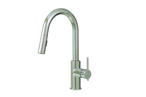 aquabrass kitchen faucets aquabrass kitchen faucets quinoa 6045n pull down dual stream mode kitchen faucet 2 finishes