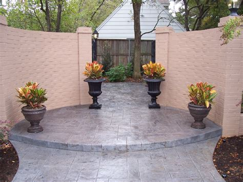 sted concrete designs sted patio designs sted patio designs pavers vs concrete