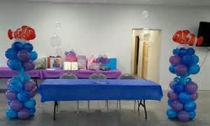 Nemo Baby Shower Balloon Decorations