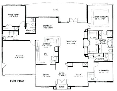 floor plans 2000 square baby nursery single house plans 2000 sq ft simple