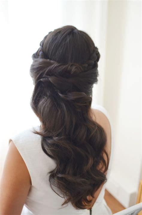 elegant bridal hair best wedding hair brunette elegant bridal hair best wedding hair brunette