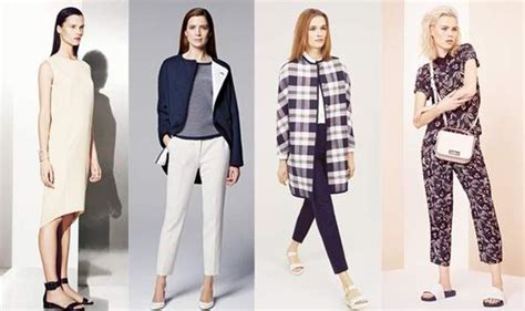 Line Skirts Tailored Jackets Colour Block