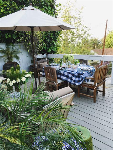 Outdoor Patio Decor by Outdoor Deck Decor My Winter Garden Spruce Up Cococozy
