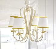 clear alyssa chandelier pottery barn