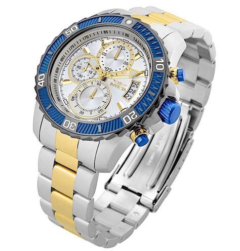 Relógio Invicta Pro Diver 23994 Prata Com Dourado! No