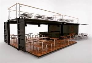 Moderne Container Häuser : pin von pulsarch auf kiosk imbiss pinterest moderne h user konteiner und pool haus ~ Whattoseeinmadrid.com Haus und Dekorationen