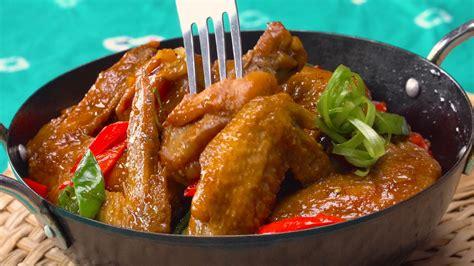 Hasilnya wuenak, uempuk, ngresap dan pastinya cepat masake.👍 #pokcoy_serunipuspaindah. Resep Sayap Ayam Pedas Manis - Masak Apa Hari Ini?
