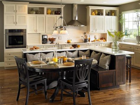 kitchen island table ideas  options hgtv pictures hgtv