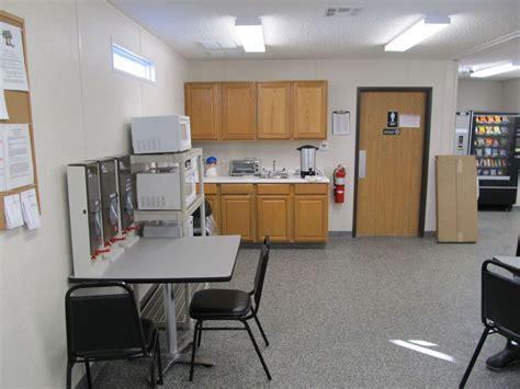 modular locker break room  modular building case