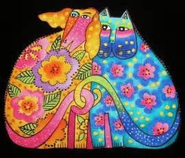 laurel burch cats laurel burch cats dogs canines felines kindred spirits 4