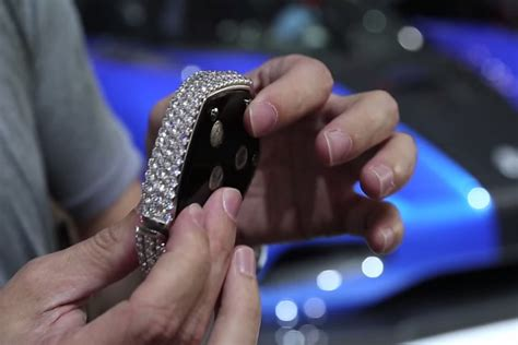 Studded With Diamonds The Most Expensive Key-fob In The