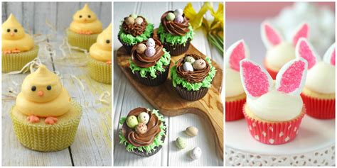 Decorating Ideas For Easter Cupcakes by 21 Easter Cupcakes Easy Ideas For Easter Cupcake Recipes