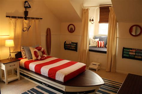 Toddler Boy's Nautical Bedroom  Traditional Kids