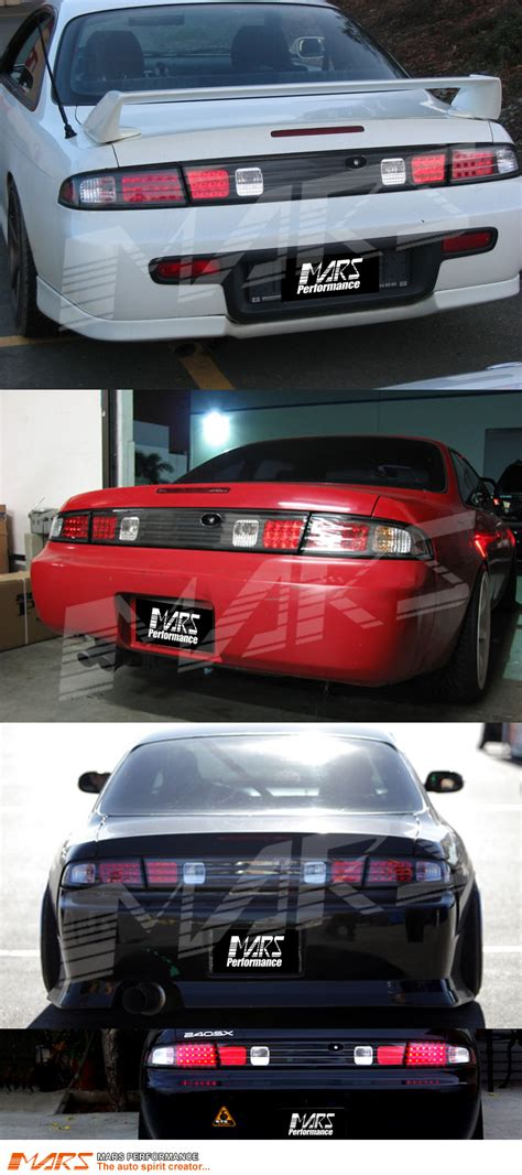 240sx Lights by Black Led Lights With Center Garnish For Nissan 200sx