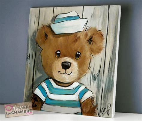 decore ta chambre tableau ourson marin 54 vente tableau ourson pour enfants