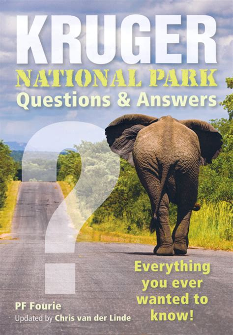 Np Questions by Kruger National Park Questions Answers P F Fourie