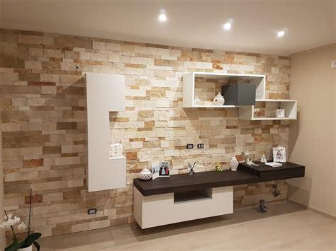 Parete Di Pietra Interna - pareti in pietra per soggiorno con parete in pietra