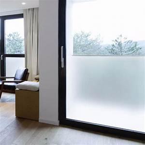 film adhesif opaque blanc film pour vitrage mat depoli With porte d entrée pvc avec film adhesif fenetre salle de bain