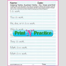 Types Of Verbs 64+ Kinds Of Verbs Worksheets