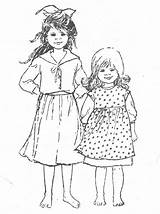 Madita Astrid Lindgren Wikland Ilon Coloring Books Madicken Colouring Sheets Pims Childhood sketch template