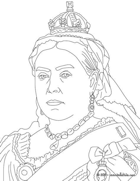 queen victoria coloring pages hellokidscom