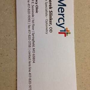 mercy clinic eye specialists eyewear opticians 3231 With business cards springfield mo