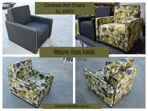 Upholstery Melbourne by Arm Chair With Contrast Piping By Jaro Upholstery