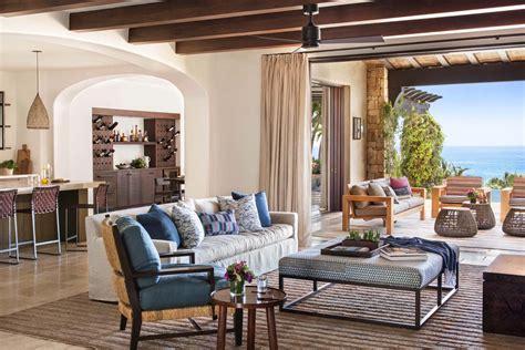 A beachfront Mediterranean style villa in Cabo San Lucas