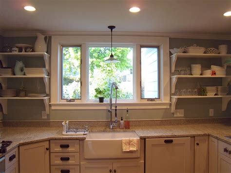kitchen sink window ideas contemporary kitchen window design