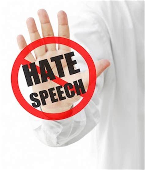 social media giants   issues banning hate speech