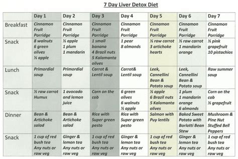 detox diät plan 21 tage 21 day detox diet plan