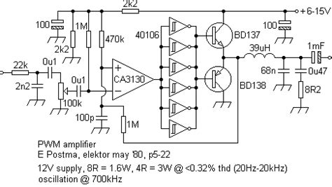 tl494 audio simple way all about circuits
