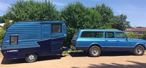 A Package Deal: 1972 Suburban And Camper