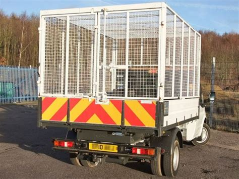 Used Ford Transit T350 Tdci, 1-way Tipper With Cage Side