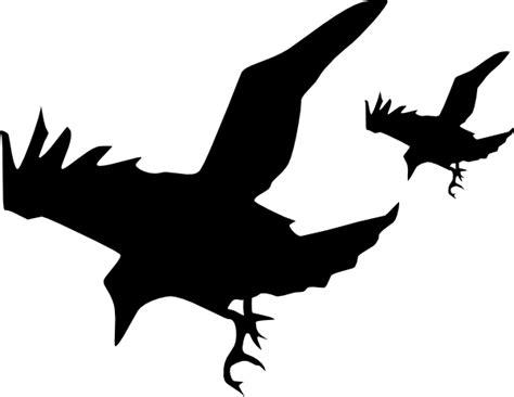 2 Crows Clip Art At Clker.com