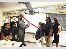 Sen Diaz funds Mott Hall V SMART boards • Bronx Times
