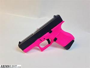 ARMSLIST - For Sale: Hot Pink Glock 43 9mm