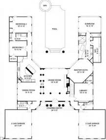 Top Photos Ideas For U Shaped Floor Plans With Courtyard by 25 Best Ideas About U Shaped House Plans On U
