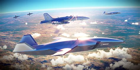 boeing loyal wingman drone aircraft airpower australia teaming ats combat system flying vehicles wingmen 18f super operations aviation fighter fly