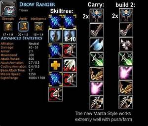 Drow Ranger Traxex Item Build Skill Build Tips