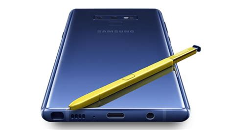 rs 67 900 will get you samsung s note 9 with 4000mah battery bluetooth s pen